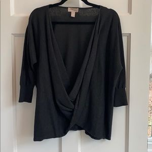 Forever 21 Wrap Front Sweater